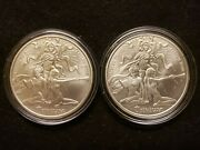 2017-2018 Silver Shield Trivium Girls B.u. Rounds / Cheap Silver - 2 For 1 Sale