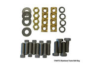Stainless Steel Brass Dock Frame Bolt Bag Rust Resistant Bolts Washers Nuts Set