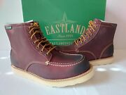 Eastland Lumber Up Leather Boot Mens 8.5 D/m Oxblood Red Moc-toe Work 125