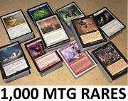 1000 Magic The Gathering Mtg Rares Collection All Rare Lot Rares Only Nm To Lp