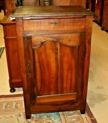 Antique French Provincial Walnut Confiturier Small Cabinet Jam 1800and039s Rare
