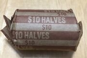 Roll Of 20 - 1989p Kennedy Half Dollar Circulated Coins Free Shipping