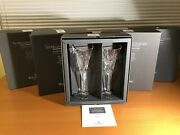 Waterford Crystal Millennium Toasting Flutes 5 Pairs Complete 1996-2000 Series