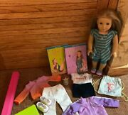 American Girl Doll Mckenna Lot W/ Extra Outfits,accessories, Books And Girl Outfit
