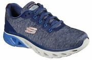 Skechers Navy Blue Shoes Air Memory Foam Womenand039s Glide Step Sport Comfort 149323