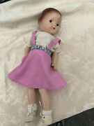 16 Antique Composition Little Girl Doll Patsy Style Vintage Clothes Handmade