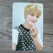 Stray Kids I.n Official Photo Card Yellow Wood Taiwan Ver. Skz