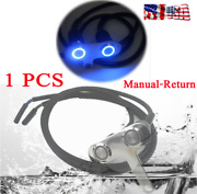 1 Pcs Motorcycle Scooter Headlight On/off Dual Buttons Manual-return Lock Switch