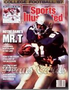 Sports Illustrated August 31 1987 - Tim Brown N Si No Address Label On Front