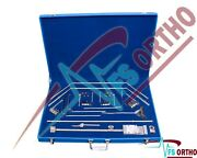 Thompson Retractor Complete Set Stainless Steel Surgical Instruments