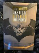 Absolute Batman Incorporated Hc Grant Morrison Dc Comics New And Sealed