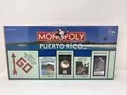 Monopoly Puerto Rico Brand New Sealed Rare- Vintage Nos Usaopoly