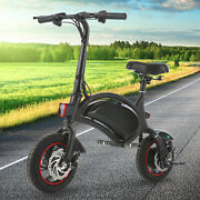 350w Folding Electric Bike Bicycle Adult Ebike 20mph With 36v Removable Battery/