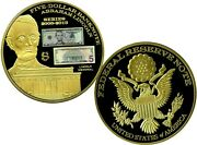 Abraham Lincoln Colossal 5 Dollar Banknote Commemorative Coin Proof 139.95