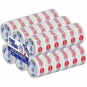 Tape Logic 2 Inch X 55 Yard 2.2 Mil Red/white Heavy Duty Packing Tapestop If...