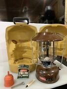 Coleman 275 Lantern - 12/80 - W/ Clamshell Case And Parts