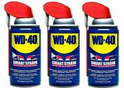 Wd-40 Multi-use Product With Smart Straw Sprays 2 Ways 8oz Cans 3 Pack