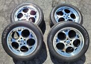 Set Of 4 Giovanna Brake Wheels + General Exclaim Uhp Tires