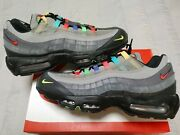Nike Air Max 95 Se 'light Charcoal Evolution Of Icons Cw6575-001 Mens Size 11.5