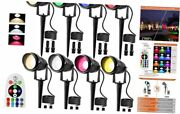 Rgb And Warm White Remote Control Color Change Landscape Lighting 8w Rgbw Led