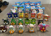 Lot Of 33 Mcdonalds Plastic Furby Action Figures All Series Happy Meal Toys 1998