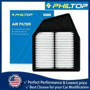 Ca10467 Af6309 Philtop Engine Air Filter For Honda Accord 08-12 And Crosstour 2.4l