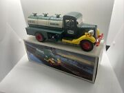 1985 First Hess Truck Toy Bank Excellent New Condition