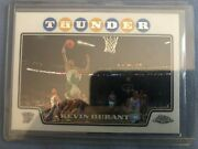Kevin Durant 2nd Year 2008 Topps Chrome Kevin Durant 156 Xfractor 114/288 Nice