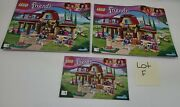 Lego Friends Heartlake Riding Club 41126 Instruction Booklet No Brick Only Paper