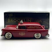 Brooklin Models 1/43 Brk 26a 1955 Chevrolet Nomad Fire Marshal's Truck Rock Co