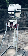 Vintage 4hp Mcculloch Outboard Motor - Late 1960andrsquos
