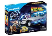 Playmobil Back To The Future Delorean Toy Playset 70317 Doc Brown Marty Mcfly