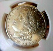 Morgan Silver Dollar 1902 S Ngc Au 55+++++ Frosty Beauty Looks Unc Rare Date