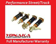 Yonaka Acura Rsx 02-06 Suspension Coilovers Shocks Springs Dc5 Street Track