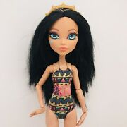 Monster High Doll Cleo De Nile Family Bathing Suit Gold Shoes Headband 13 Wishes