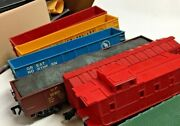 0 Freight Cars Rolling Stock Sold By The Piece Good Condition