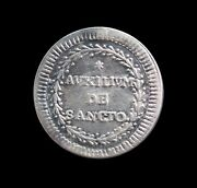 Italy Papal States Grosso 1787 Xiii Silver Km 1047 3016