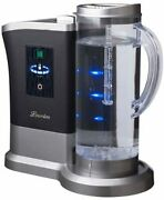 High Concentration Hydrogen Water Generator Lourdes Shine Silver W/tracking New