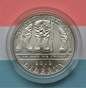 2010 Disabled American Vets Silver Dollar Brilliant Uncirculated