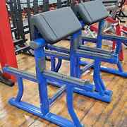 Brand New Life Fitness Preacher Curl Bench Commercial Gym Equipment