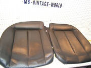 Mercedes W208 Clk55 Amg Rear R And L Seat Leather Charcoal Lower Genuine 2 Covers