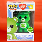 Funko Pop Good Luck Bear 355 Flocked - 2018 Spring Convention With Protector