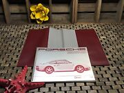 1987 Porsche 959 Owners Manual Drivers Manual English 6/87 Orginal Mint Oem