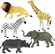 Click Nand039 Play Jumbo Animal Figurine Playset Assorted Piece Brown Best Sale