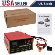 Car Maintenance-free Battery Charger 12v/24v 10a 140w Intelligent Pulse Repair