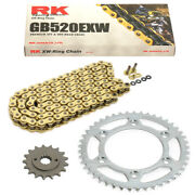 Chain Set Yamaha Wr 250 For 10-15 Chain Rk Gb 520 Exw 114 Open Gold 14/47