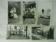 5 Antique China Photographs Of American Missionaries C. 1919 Cf3