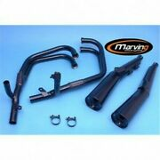 System Of Exhaust Complete Approved Marving Kawasaki Gpz 750 R Zx750g 1985-86