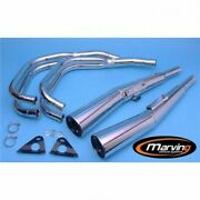 System Of Exhaust Complete 4 In 2 Master Marving Honda Cb 750 Kz 1978 1982