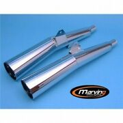 Terminals Exhaust Silencers Approved Marving Honda Cx 650 And 1983-1986